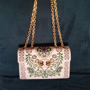 Tory Burch Gemini Link Garden Chain Crossbody Bag